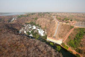 Mwadingusha hydropower plant and sub-station